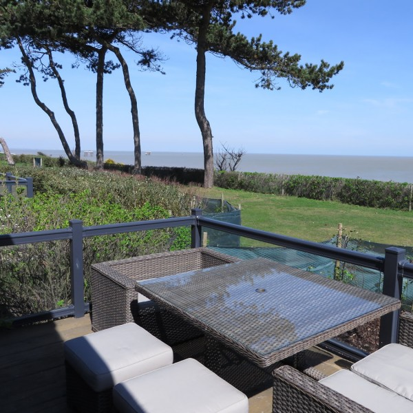 Aldeburgh holiday lodge at Beach View Holiday Park.