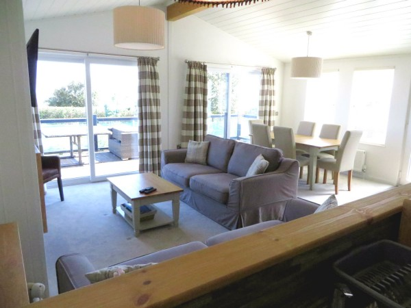 Cambrian Plantation 3 bedroom lodge for sale on the Suffolk Coast.