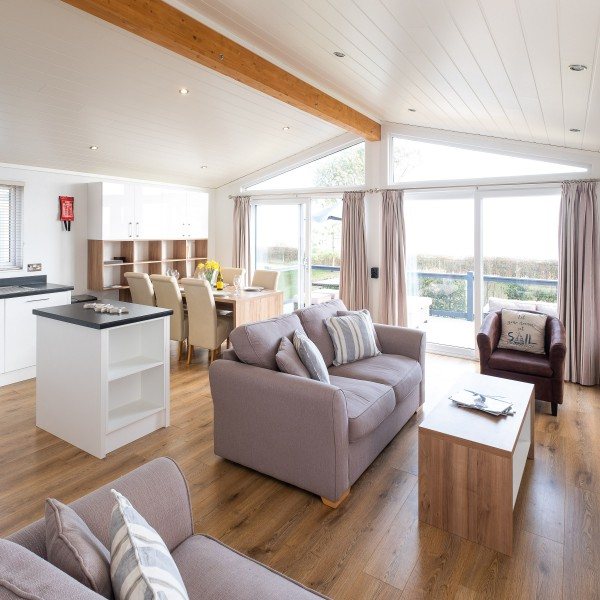 Luxury dog friendly lodges at Beach View on the Suffolk Coast.