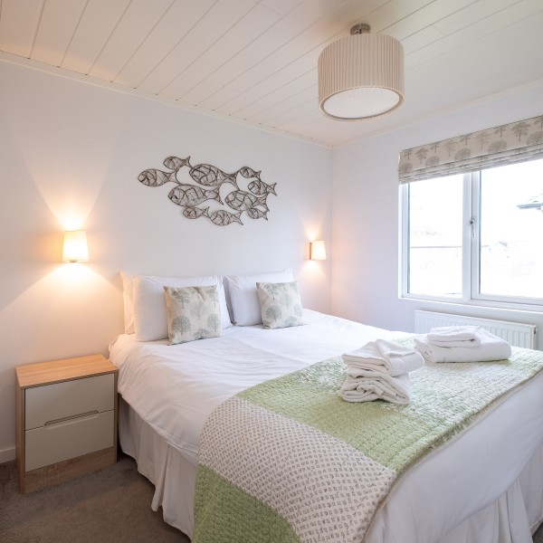 Cosy holiday lodges by the sea at Beach View Holiday Park Suffolk.