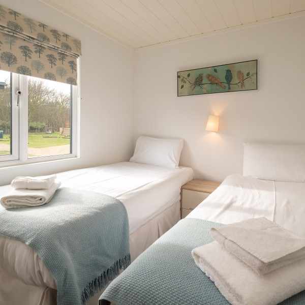 3 Bedroom self-catering lodge on the Suffolk Coast.