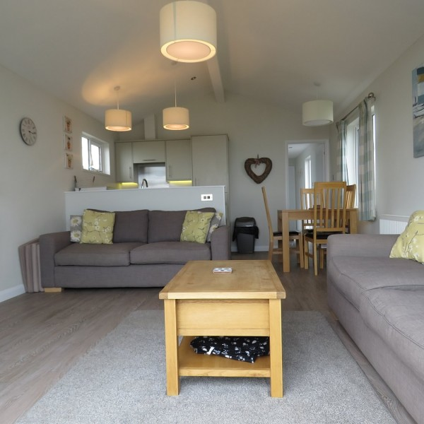 Dog friendly holiday lodge, between Minsmere and Thorpeness on the Suffolk Coast.