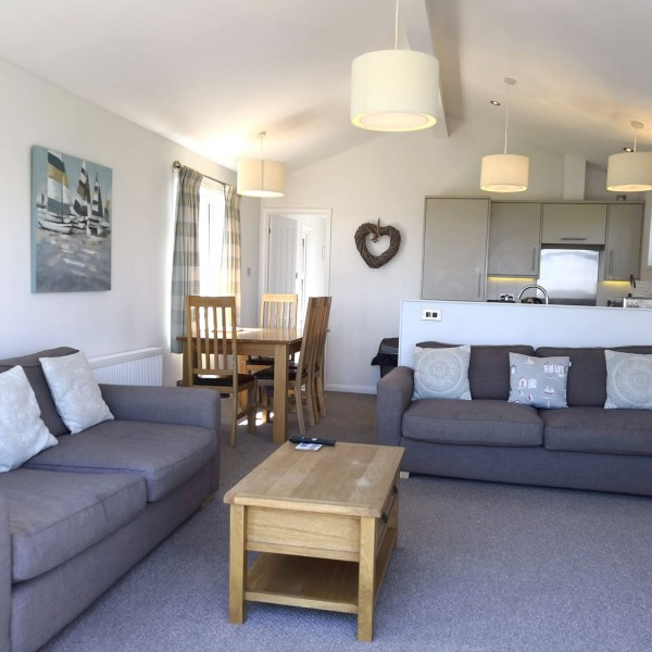 Bayview holiday lodge rental with sea views on the Suffolk Coast.