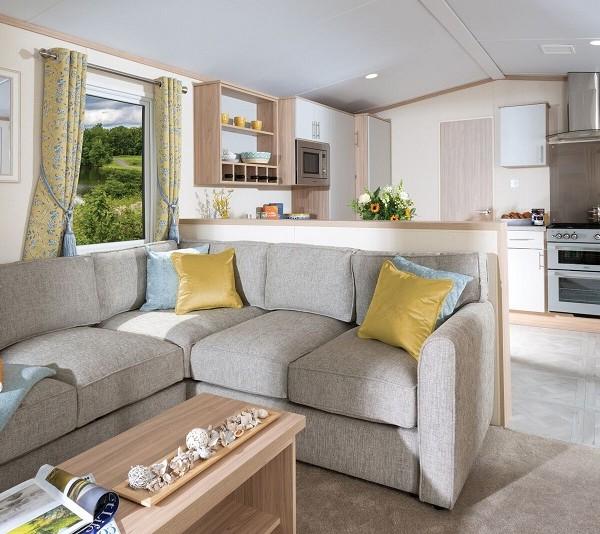 New luxury 2 bedroom caravans for sale on the Suffolk coast.